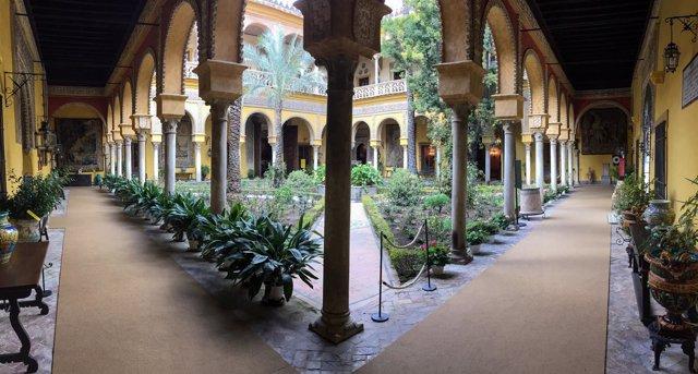 Due os del palacio de due as casa pilatos hospital de la for Alquiler de casas en lebrija sevilla