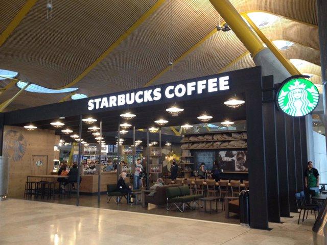 Starbucks en T4 de Madrid