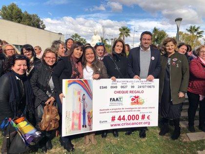 Mujeres taxistas de toda España recaudan 44.000 euros para la Fundación CRIS Contra el Cáncer