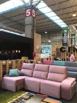 Sofá, tresillo, Feria del Mueble