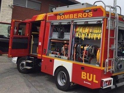 Herido un joven en un incendio de vivienda en Jaén capital