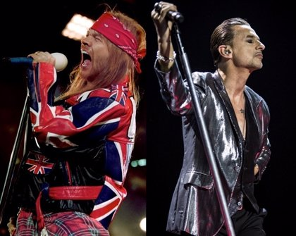 De Guns n' Roses a Depeche Mode: 15 ilustres que no tienen ningún Grammy