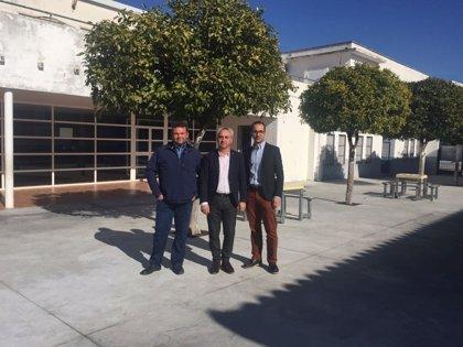 La Diputación de Córdoba invierte en la eliminación de las barreras arquitectónicas del CEIP 'Santo Tomás de Aquino'