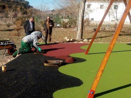 Renovada el área recreativa de El Peralejo del Centro de Visitantes Matabejid