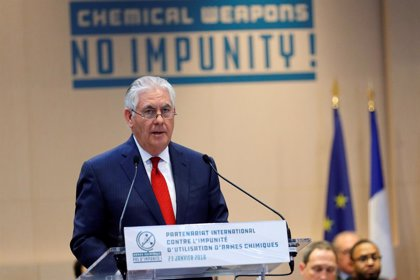 Tillerson responsabiliza a Rusia, como aliado de Damasco, del uso de armas químicas en Siria