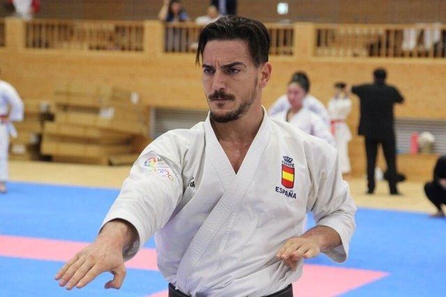 Damián Quintero katas karate