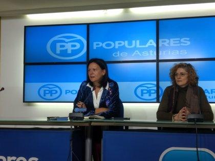 """López Ares (PP): """"El corazón negro del PSOE se está transformando en un corazón verde"""""""