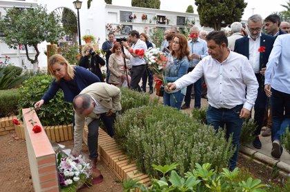 El campo de concentración de San Juan del Puerto (Huelva) congregó a 1.400 personas, según la Asociación de Memoria