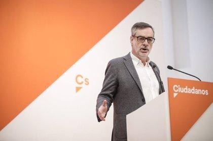"""Ciudadanos promete apoyo al Gobierno en lo que decida sobre Cataluña porque """"no es momento de criticar errores"""""""