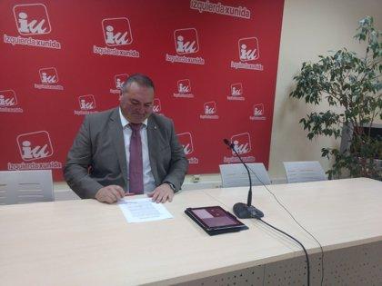 """Argüelles (IU) respalda al Principado y pide """"unidad"""" para la continuidad de las térmicas"""