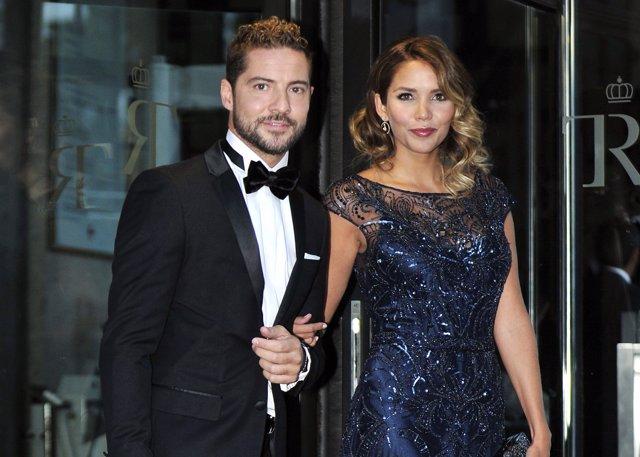David Bisbal y Rosanna Zanetti/ Javier Gálvez