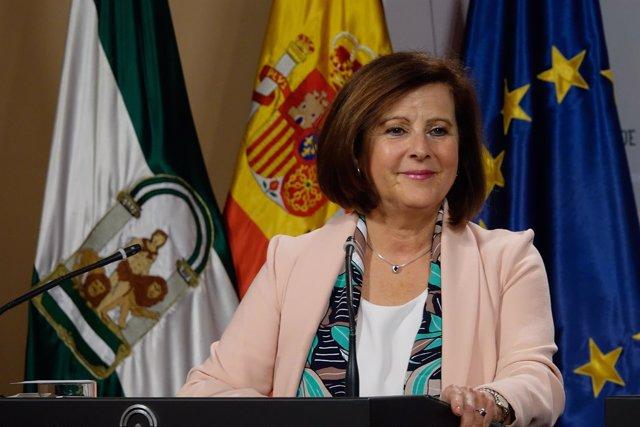 María José Sánchez Rubio, este martes