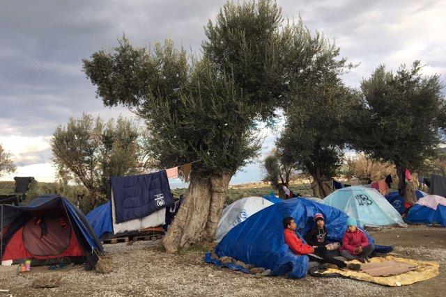 Campo de refugiados de Moria (Grecia)