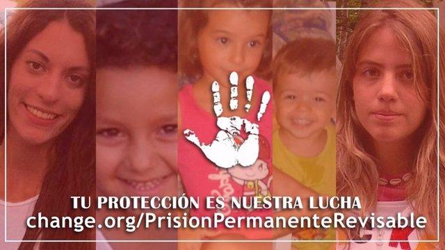 Campaña contra la derogación de la prisión permanente revisable