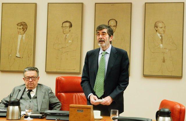 Miguel Herrero y Rodríguez de Miñón y José Enrique Serrano