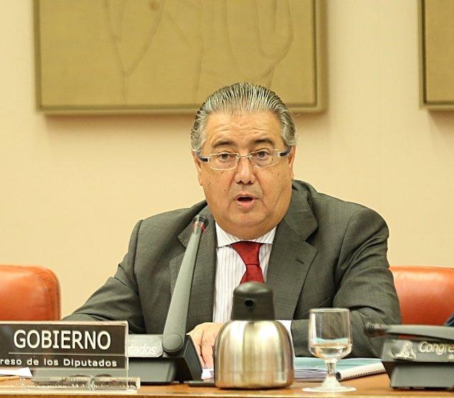Juan Ignacio Zoido comparece en la Comisión de Interior en el Congreso