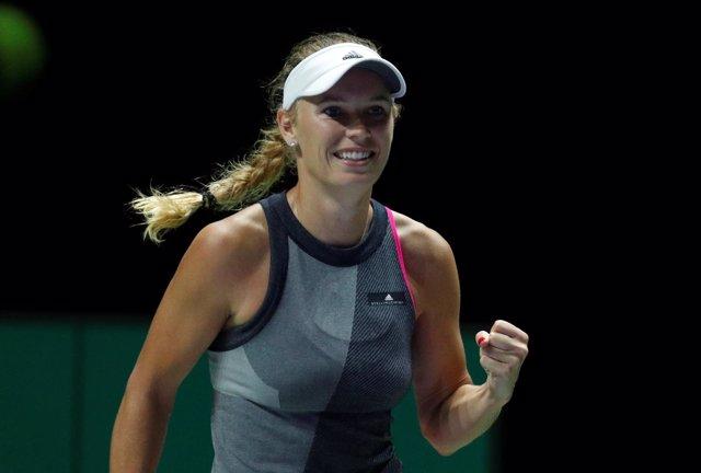 La tenista danesa Carolina Wozniacki