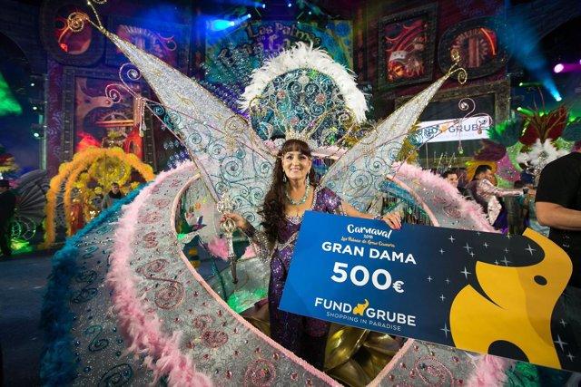 María Suárez, Gran Dama del Carnaval de Las Palmas de Gran Canaria