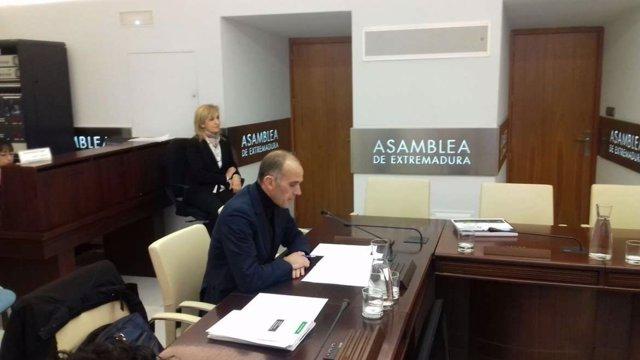 Manuel Mejías en comision