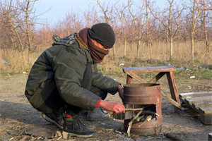 La odisea de Jorge, un cubano atrapado en los bosques de Serbia que intenta llegar a España
