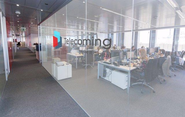 Oficinas de Telecoming en Madrid
