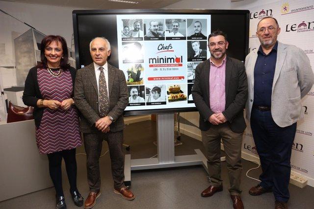 Un Centenar De Cocineros De Pinchos De Toda España Se Citan En Minimal León 2018