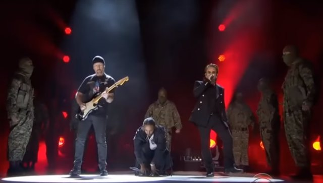 THE EDGE, KENDRICK LAMAR Y BONO