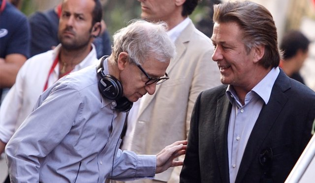 Woody Allen y Alec Baldwin
