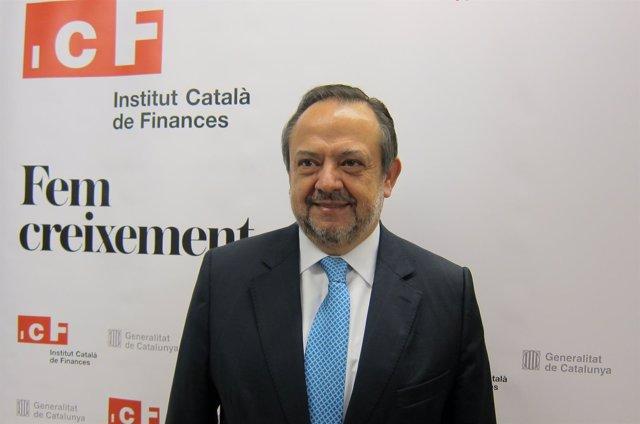 El consejero delegado del ICF, Josep Ramon Sanromà