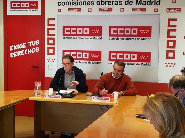 José Manuel Franco y Jaime Cedrún