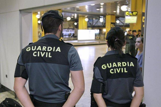 Guardia Civil recursos aeropuerto, vigilancia