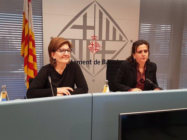 Gemma Tarafa y Montserrat Pasarín