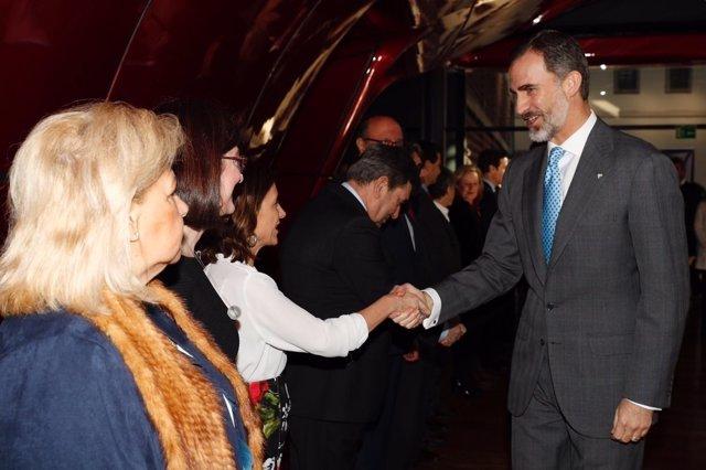 El Rey Felipe y la Reina Letizia en Premios Fundación Víctimas del Terrorismo