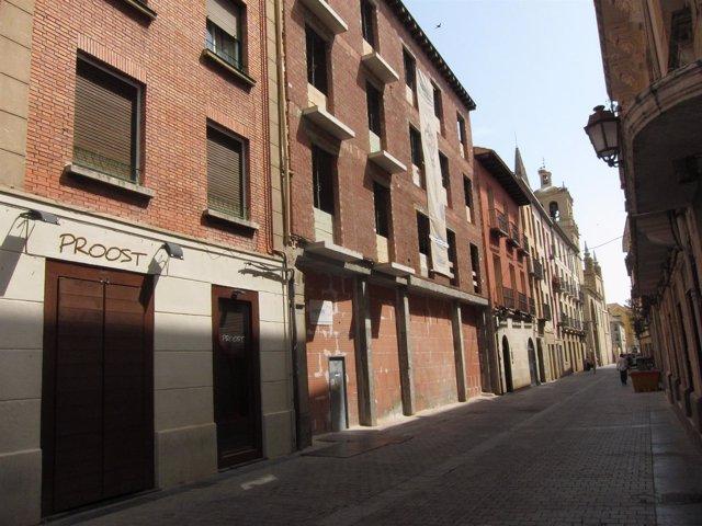Imagen Del Casco Antiguo De Logroño