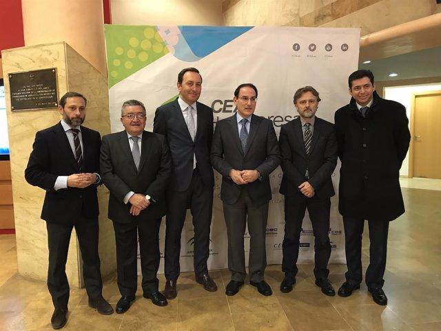 Jornadas en la CEA sobre la Ley de Urbanismo, con el consejero José Fiscal