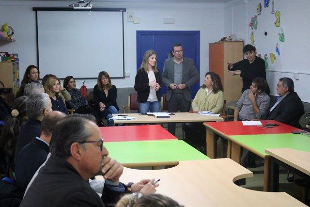 Ana Mestre se reúne con asociaciones y colectivos de Huelva.