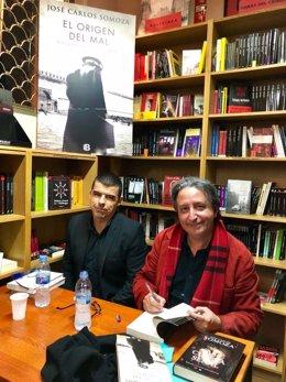 El escritor José Carlos Somoza