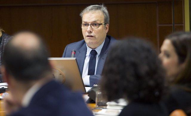 El consejero de Turismo, Comercio y Consumo, Alfredo Retortillo