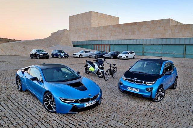Automóviles electrificados del grupo BMW