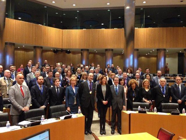 Rosa Peñalver en primer foro geopolítica en Congreso