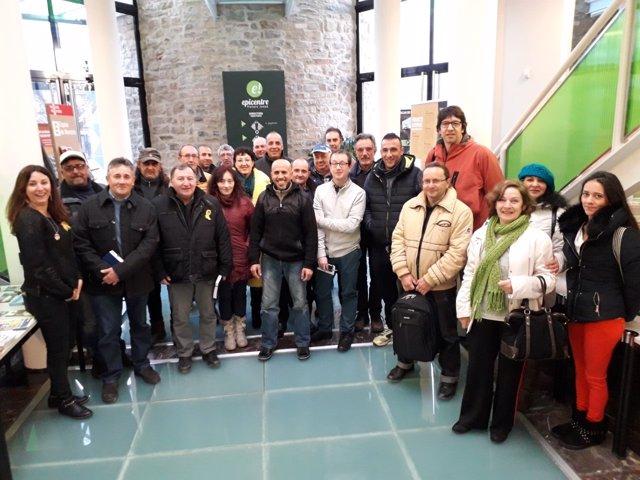 Participantes en el programa Trabajo y Formación