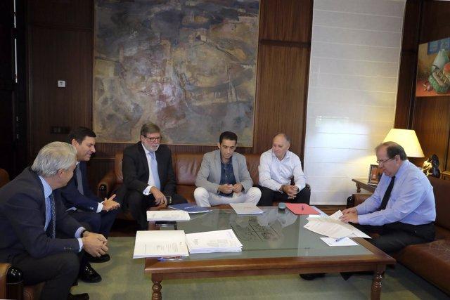 Reunión del Diálogo Social de Castilla y León