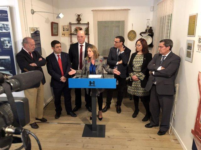 Irene García, en rueda de prensa