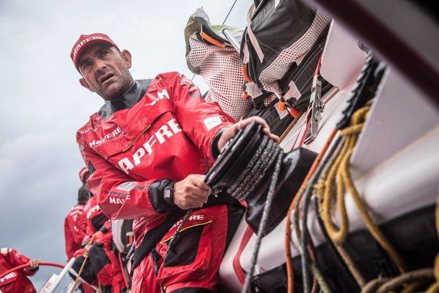 Xabi Fernández MAPFRE Volvo Ocean Race