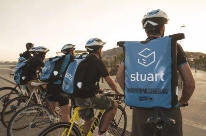 La empresa emergente de mensajería Stuart empieza a operar en nueve ciudades europeas