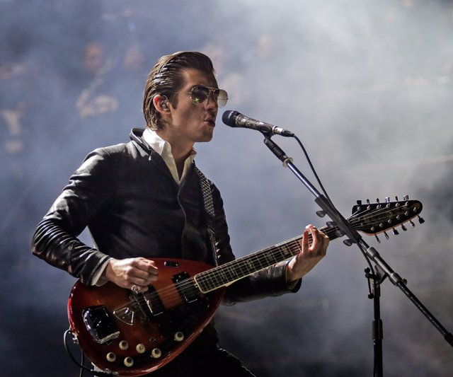 Image #: 32902450    Arctic Monkeys close out the Ritual Stage during Voodoo Fes