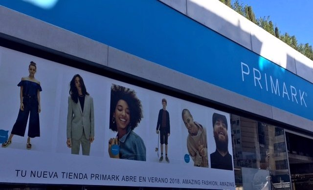 Tienda Primark en València