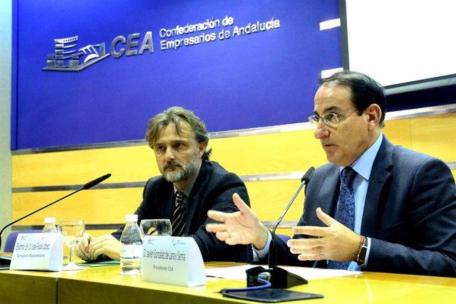 José Fiscal y Javier González de Lara.