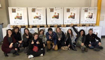 UPS recoge más de 8.000 juguetes para niños desfavorecidos a través de la campaña 'Unidos Por Sonrisas'
