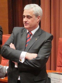 Conseller de Justicia de la Generalitat, Germà Gordó